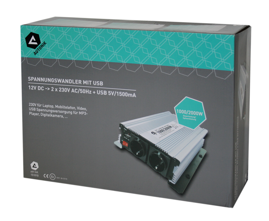 Autonik Inverter 12V 1000/2000W