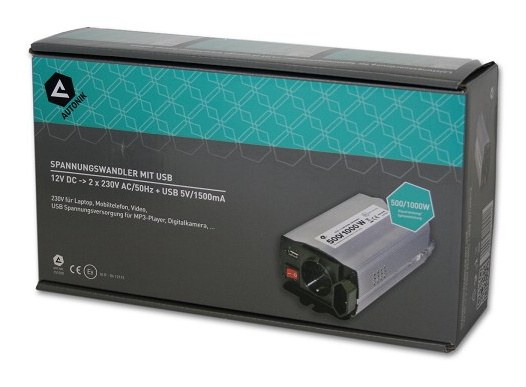 Autonik Inverter 12V 500/1000W