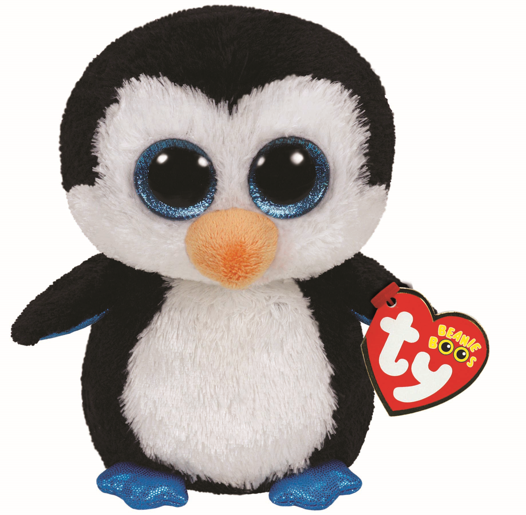 "(PG 9) Beanie Baby Pinguin ""Waddles"" 15cm"