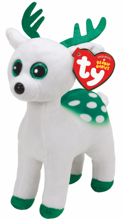 "(PG 9) Beanie Baby Rentier ""Peppermint"" 15cm"
