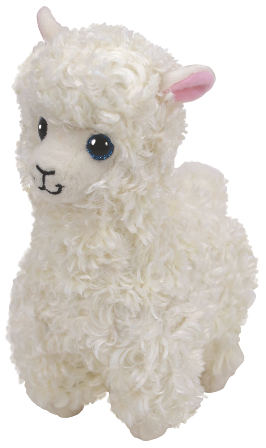 "(PG 9) Beanie Baby Lama ""Lily"" 15cm"