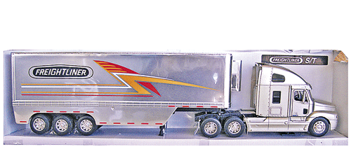 (PG 14) LKW Freightliner 1:32 S/T silver