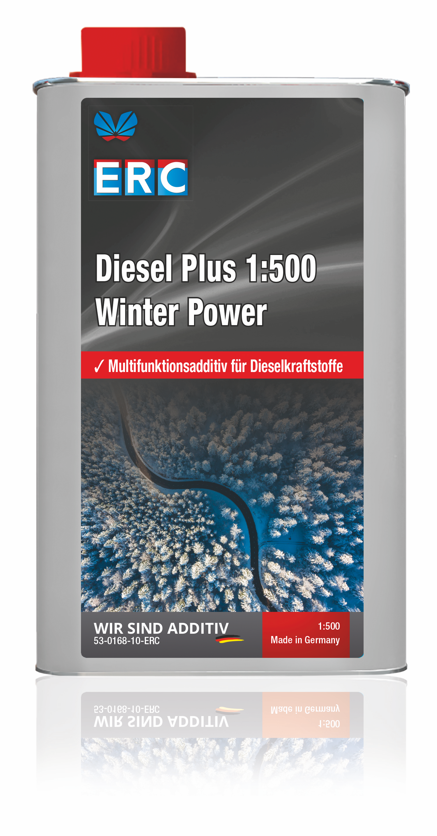 ERC Diesel plus 1:500 Winter Power Additiv 1000ml