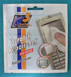 K3 Scratch Repair Set Display