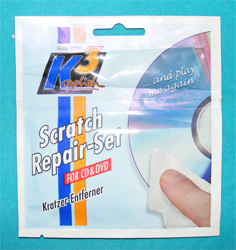 K3 Scratch Repair Set CD/DVD