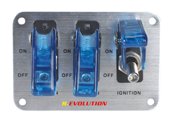 Switch Board blue