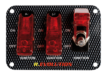 Switch Board IV red