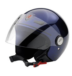 Jet Helm Frontera dark blue metal Gr.S