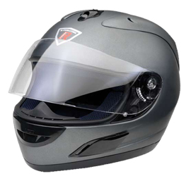Integral Helm Leox black metal Gr.XL