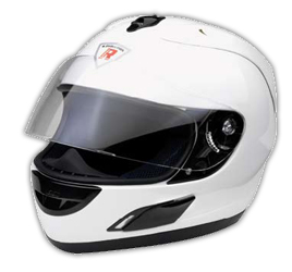 Integral Helm Leox white pearl metal Gr.XL