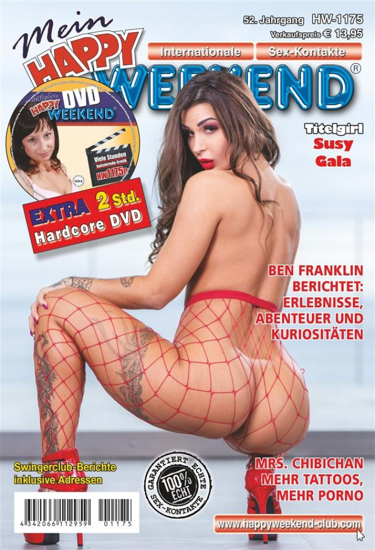 Happy Weekend+DVD, Ausgabe 1146 vom 08.01.2019